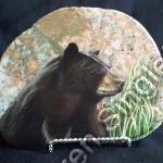 Bear on Lake Superior granite (SOLD)