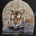 Siberian Tiger - Reflection (SOLD)