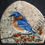 Eastern Blue Bird  (SOLD)